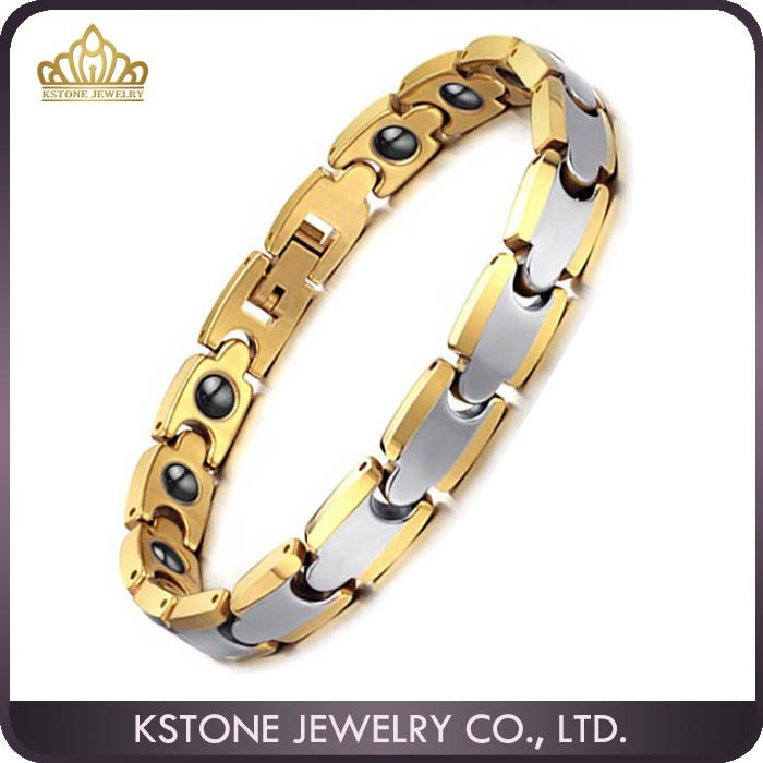 KSTONE Germanium Magnetic Bio Energy Tungsten Bracelet