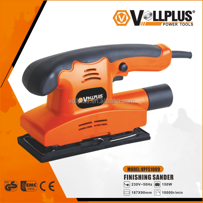 Vollplus VPFS1009 150W 90x187mm electric palm wall sander orbit sander electric sander