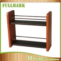 Decorative beautiful hot selling wood spice rack