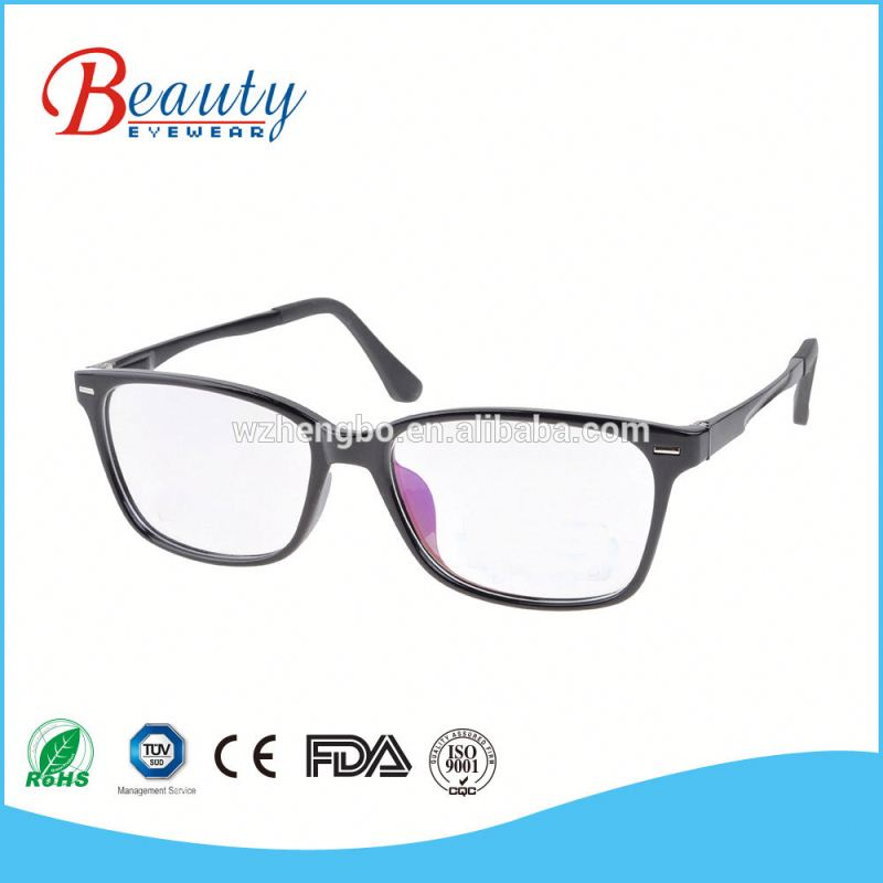 Old people reading glasses elegance frame Plastic piece decorate temple side