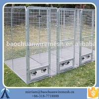 Heavy Duty Lucky Dog 6x10-foot Galvanized wire kennel