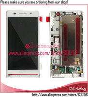 100% Original New for Huawei Ascend P6 LCD and Digitizer Display with Touch Screen and Frame Assembly Alibaba China