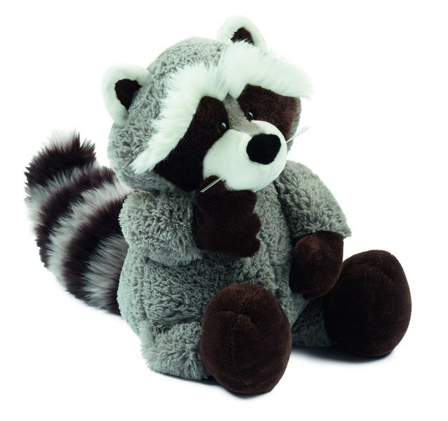 Adorable raccoon plush stuffed toy