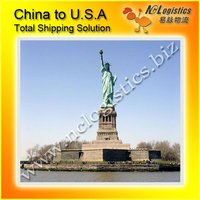 International transport container cost from Xiamen China to USA