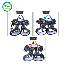 CE Standard Men Body Lineman Safety Belt Harness For Workers Construction