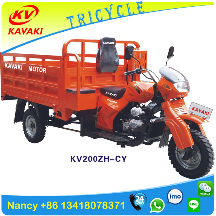 Sudan heavy duty motorcycle new model Loncin engine motor tricycle