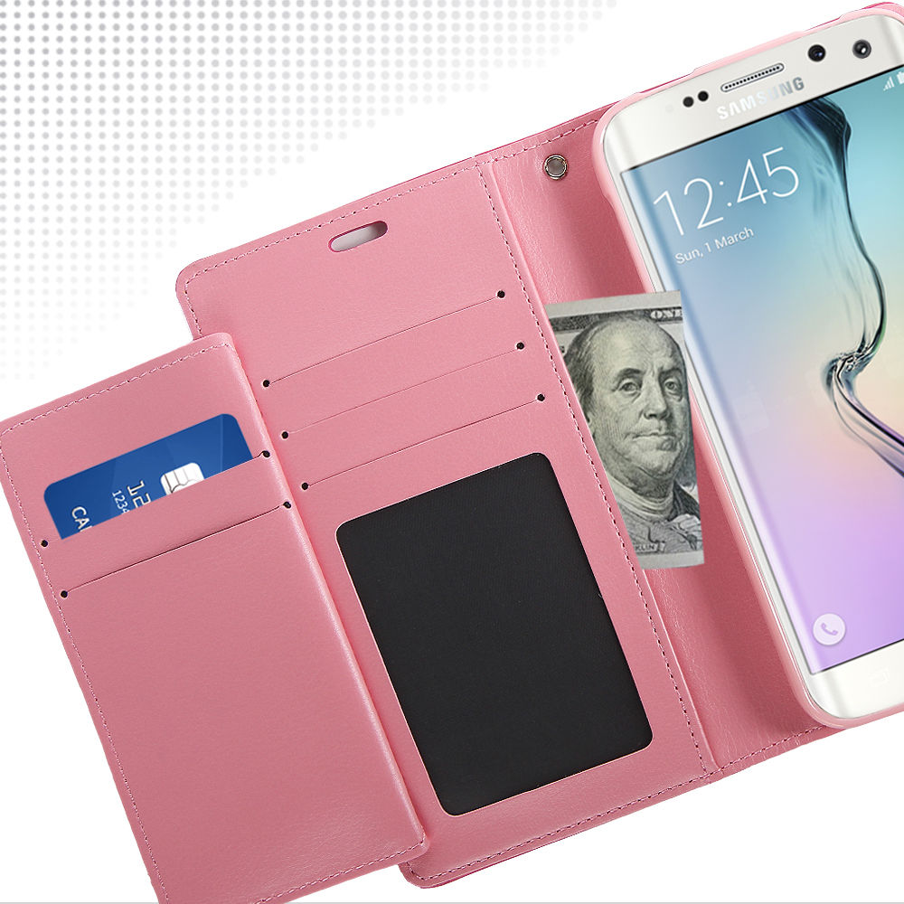 Original Mercury Goospery Case For Samsung Galaxy S3,Double Card Slot Pocket Rich Diary