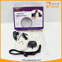 2016 innovative design pet fence wireless indoor dog fence TZ-PET007 dog traing system