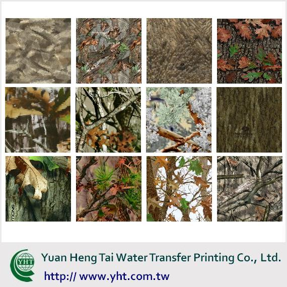 water transfer printing machine maker, transfer film maker, OEM, camouflage, Mossy Oak camo film maker and dipper