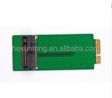 M.2 NGFF SSD + adapter card replace 2010 2011 Mac-Book Air A1370 A1369 64G 128G 256G 512G SSD