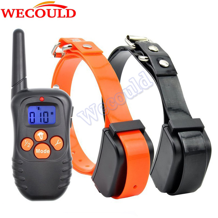 2016 Peted Dog Bark Trainer, Used Electronic Dog Training Shock Anti Bark Collar, Waterproof Shock Control No Bark Dog Collar