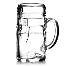 Lederhosen Glass Beer Stein 17.5oz / 500ml