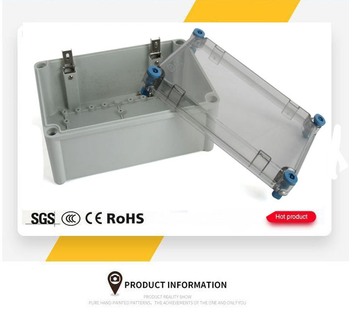 IP65 Waterproof ABS Electrical Terminal Cable Connection Electrical Junction Box
