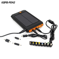 New products 12000 mah solar power bank charger for Laptop