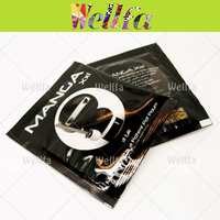 1g-4g Black Printed Herbal Incense Bag With Custom Design