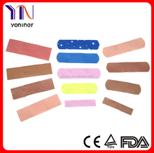 Coloured Printing medical first aid adhesive plaster /bandage/strip