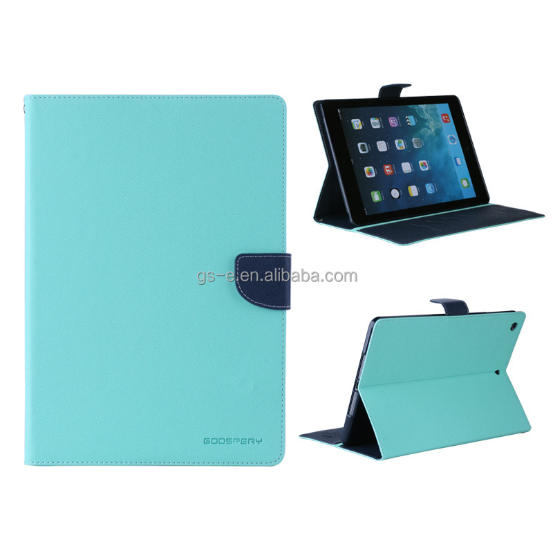 Mercury Goospery Wallet case For Ipad Leather Case Wallet Cover,Stand Leather Case For Ipad
