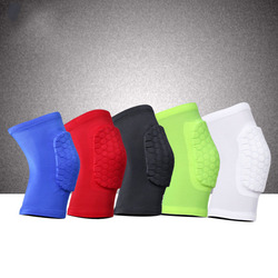 Knee Pads/Elbow Pads/Shin Pads for Volleyball, Basketball, Football & All Contact Sports, Youth & Adult Sizes, Sold as Pair