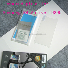 Premium 9H Tempered Glass screen protector for Samsung Galaxy S4 Active I9295
