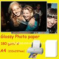 180 gsm - A4 high glossy photo paper