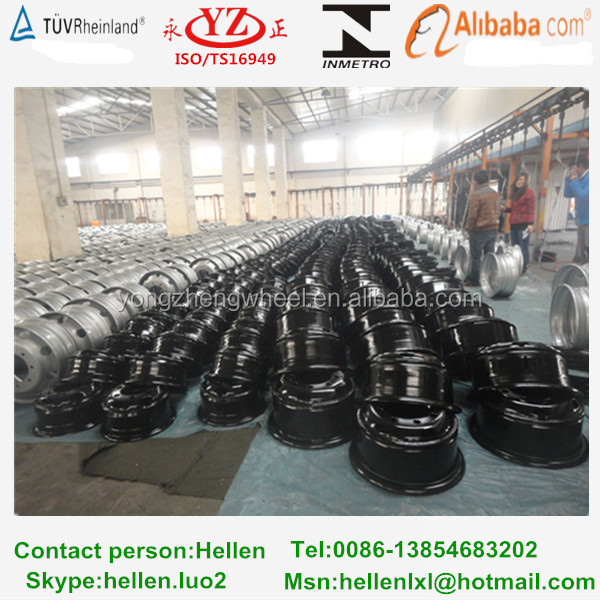 steel car rims made in china