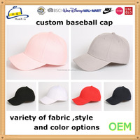 top quality small order custom baseball cap embroidery