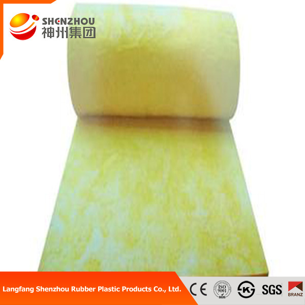 steel structure insulation material glass wool sound absorb fiberglass wool blanket