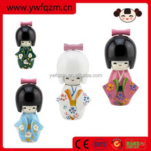 pure handcraft pink car hanging decoration dolls made in China for decoration or gifts