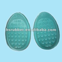 gel shoe pads Silicone gel front cushion heel shoe padded insoles