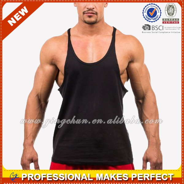 Custom Bodybuilding Gym Stringer Vest for Men(YCT-C0376)