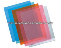 L shape pp file folder