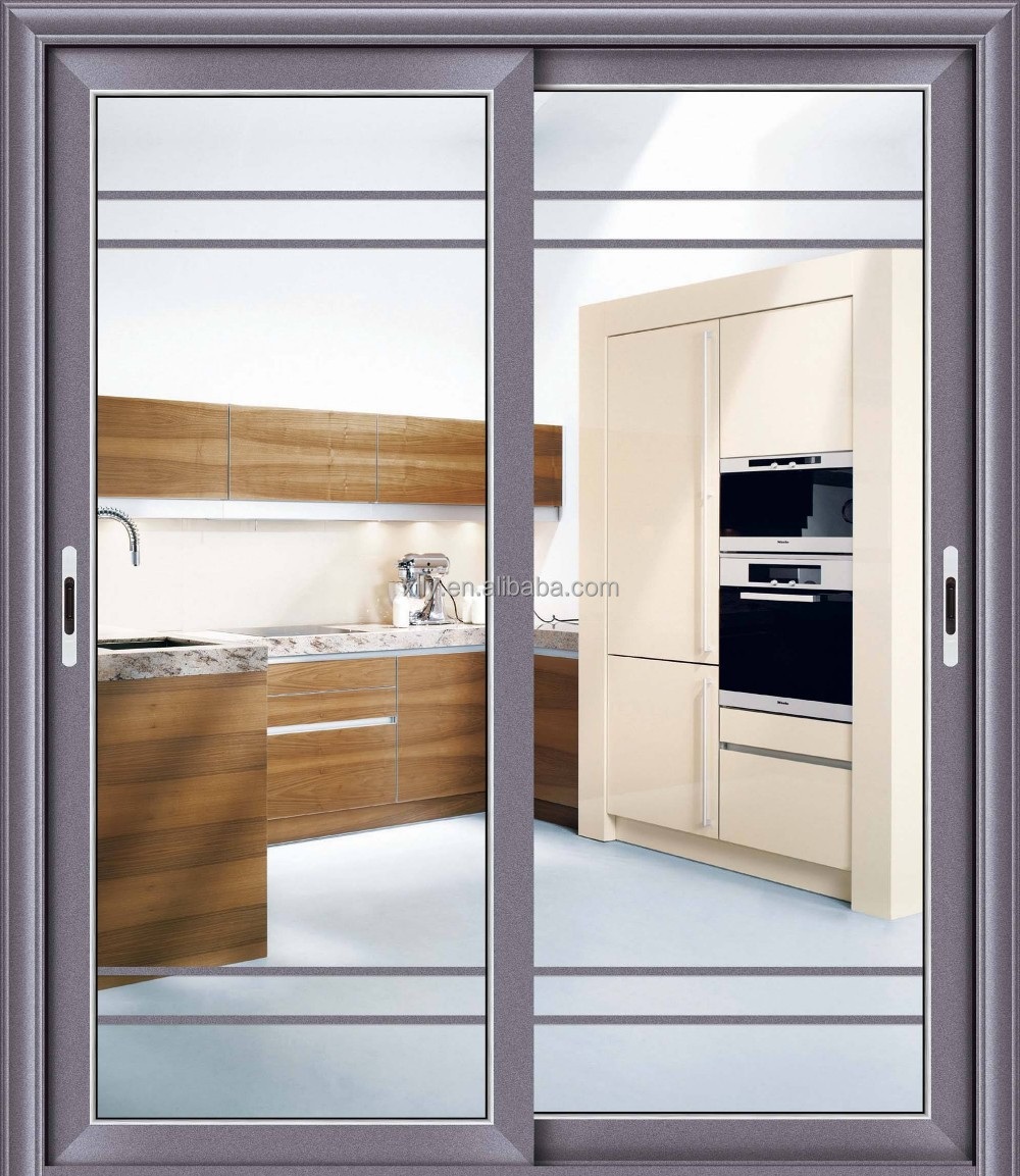 Sound proof design used exterior aluminium glass sliding door