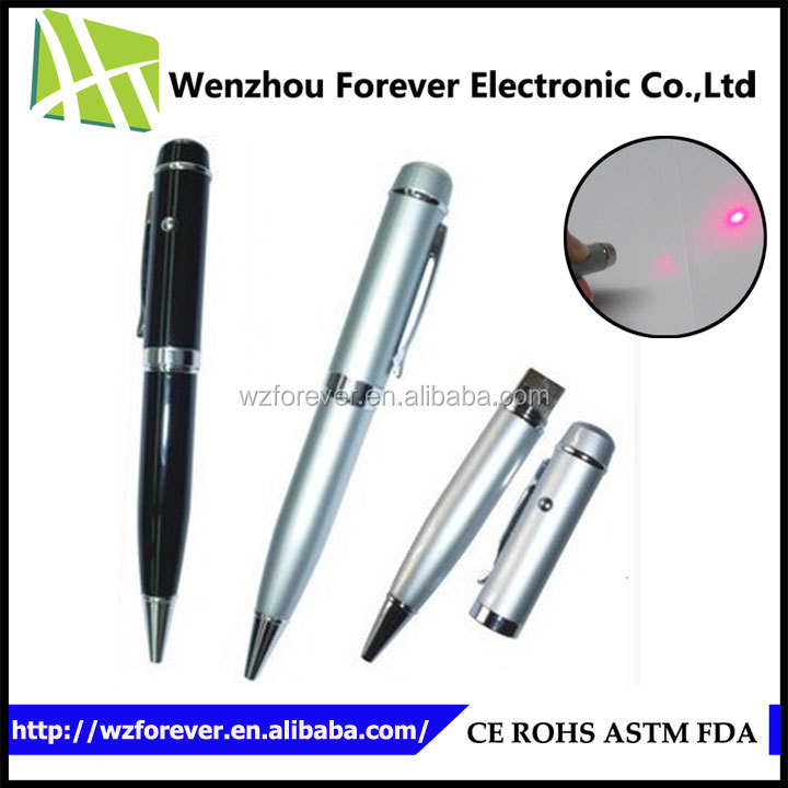 2016 Hot Selling Laser Pointer USB Flash Pen Drive 200GB