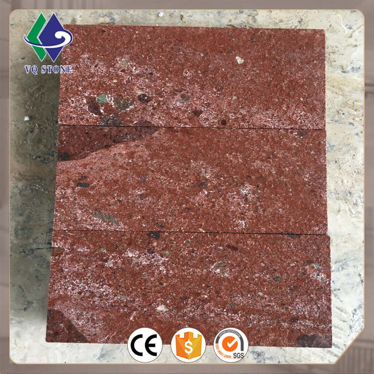Factory price slab tile floor wall dayang red porphyry