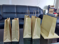 High quality but Competitive price brown kraft paper bags