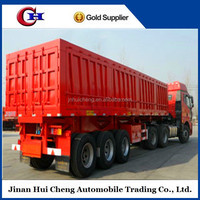 Best-selling 3 axles small box trailers for sale