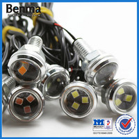 Waterproof car Eagle eye lamp 3030-3 LED Daytime Running Lamp with bolts