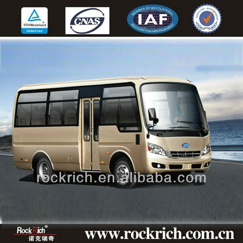 Hot sales 6 meter Dongfeng mini bus 16-20 seaters