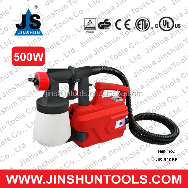 Promotion Item: Air Brush Turbine HVLP Floor Based Paint Spray Gun (500W JS-910FF) from Jinshun