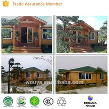 High quality wood prefabricated houses and villas prefab wooden chalet wooden chalet for sale