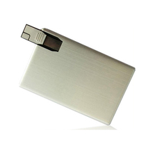 Promotional The Thinnest Credit Card Shaped Usb Flash Drive