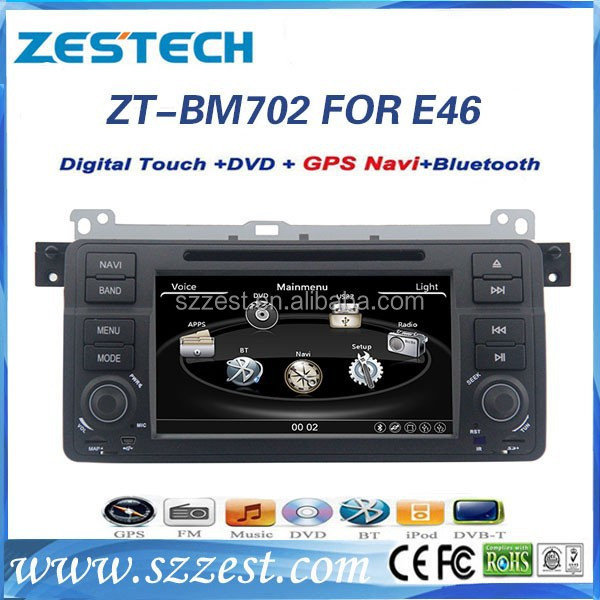 car pc gps for bmw e46 car pc gps 3 series M3 with dvd gps player digital TV A8 chipset ZT-BM702