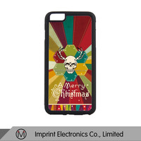 Black Rubber Phone cases for iPhone 6 plus sublimation printing cover Dropshiping