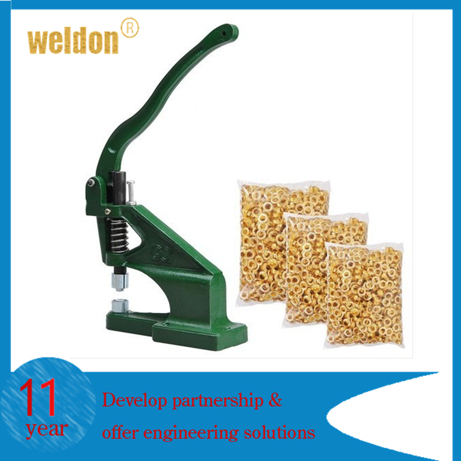 Weldon Semi-automatic metal grommet machine with strong stand