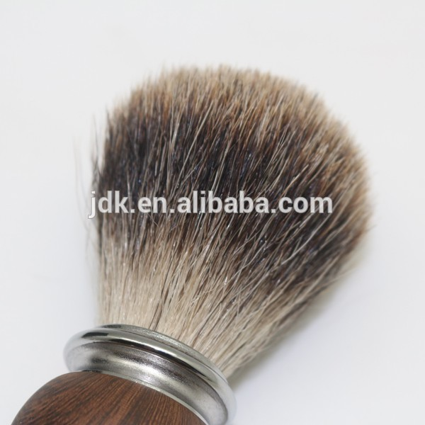 JDK professional shaving kit high quality badger hair shaving brush with bow and stand
