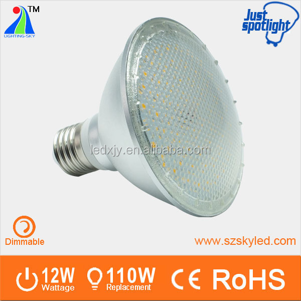 Aluminum housing PAR20 PAR30 PAR38 LED LIGHT par30 led