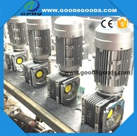 GPHQ NMRV 90 degree gearbox reducers for derricking jib cranes