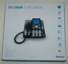 Unlock NEO3600 sim card gsm 3g fwp/3g desk phone with Bluetooth