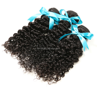 22'' malaysia virgin curly hair extension, 6a grade kinky curly micro bead hair extension