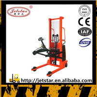 Spring procurement hot sale electric Hydraulic oil drum stacker
